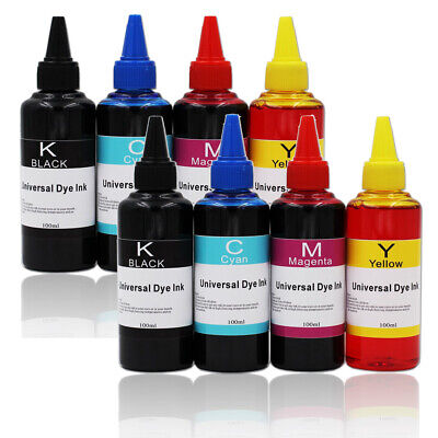 8x 100ml Printer Refill To Replace Canon Epson Brother Lexmark Ink Bottles Kit • 12.66£