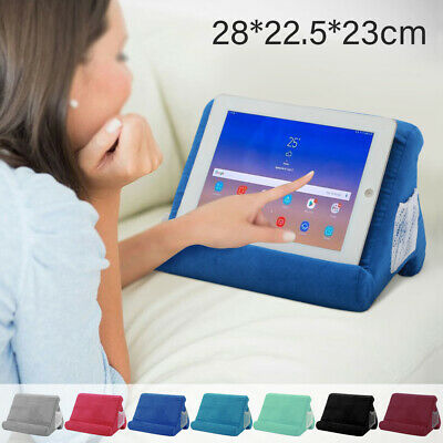 Multi-Angle Soft Pillow Lap  For IPad Phone Laptop Magazine  Holder Gift • 11.99£