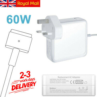 60W Genuine Adapter Power Charger Converter For Apple Macbook Laptop Charge NEW • 15.99£