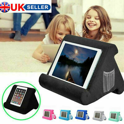 Tablet Stand Pillow Holder Book Reader Rest Lap Reading Cushion UK HOT SELL • 11.60£