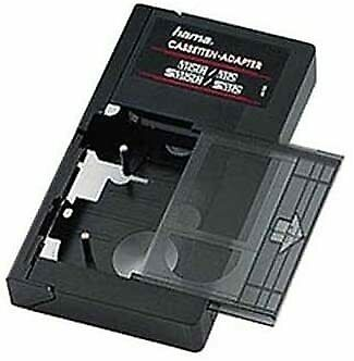 Hama Cassette Adapter VHS-C/VHS Manual; Black (00044705)  • 30£