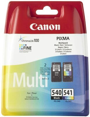Canon PG-540/CL-541 Ink Cartridge Multipack - ORIGINAL - New Sealed • 26£