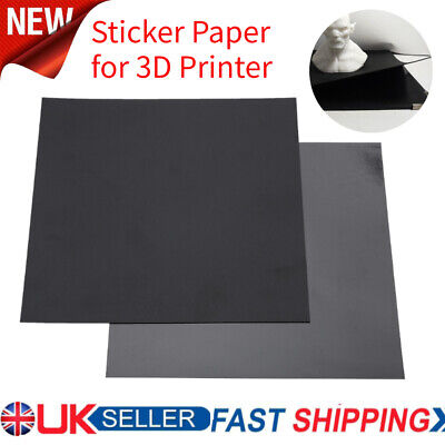 3D Printer Build Plate Tape Magnetic Heated Hot Bed A + B Sticker 220x220mm • 13.24£