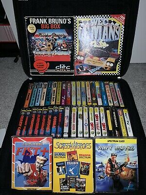 ZX Spectrum Huge 40+ Games Bundle Rare Cassettes • 84.99£