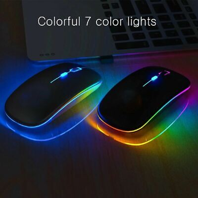 2.4G Wireless Bluetooth USB Mouse Dual-Mode Optical For Laptop Computer PC IPad • 8.49£