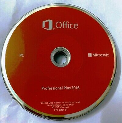 Microsoft Office Pro 2016 For Windows / Word, Excel, PowerPoint -Lifetime • 40£