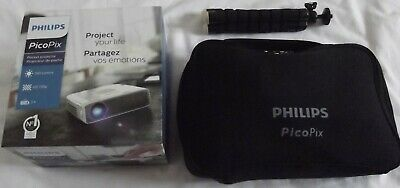Philips PicoPix PPX4835 Mini Projector Jbl Speaker Charge 2 Hdmi Cables Pointer • 143£