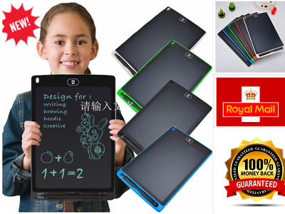 Electronic Digital LCD Writing Tablet Drawing Board Graphics For Kids Gift • 4.99£