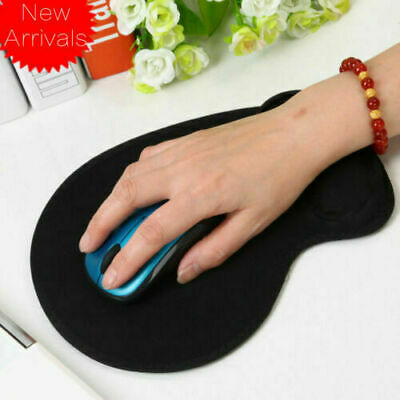 Anti Slip Gaming Desk Mouse Pad Mat With Wrist Support For PC Mac Book Laptop Uk • 3.49£