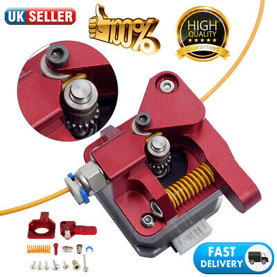 For CR-10 CR-10S Pro Ender 3 5 Upgraded Dual Drive Gear Extruder Feeder UK • 11.99£