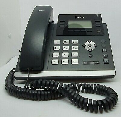 Yealink / Telstra SIP T42G Phone 12 Line Dual Gigabit IP VOIP Fast Delivery • 55.74£