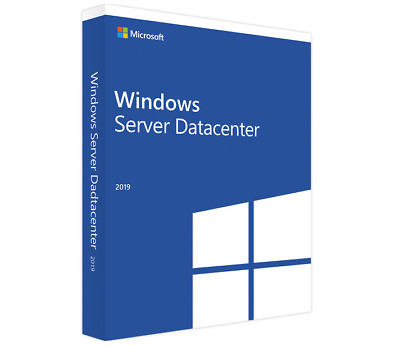 Server 2019 Datacenter Product Key License MS Unlimited CPU Cores Genuine • 31£
