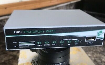 Digi Transport WR21 Cellular Router 2 Sims. • 107£