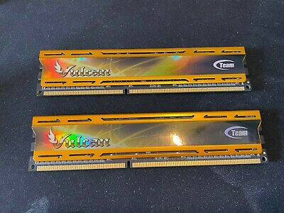 Ram 2x4GB TEAM VULCAN 2400 MHz DDR3 CL11 • 37£