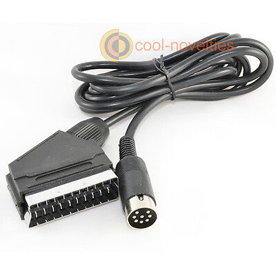 Sinclair Zx Spectrum +2, +3 High Quality Rgb Scart Lead - 2 Metres • 11.99£