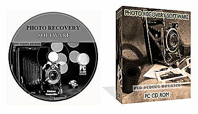 Lost Photos Pictures Images Recovery Restore Software + Data Recovery CD DISK  • 2.49£