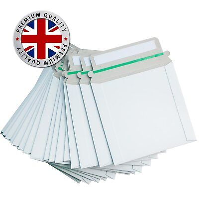 50 Cardboard CD DVD Mailers Envelopes PEEL And SEAL Strong Seal  • 8.99£
