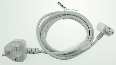 Apple Macbook Pro Fused 3-pin Uk Plug Extension Cable Cord For Charger Adapter • 7.95£