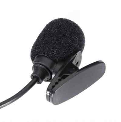 3.5MM Hands FREE Clip On Mini Microphone PC Laptop Skype MSN Chat Online Gaming • 4.99£