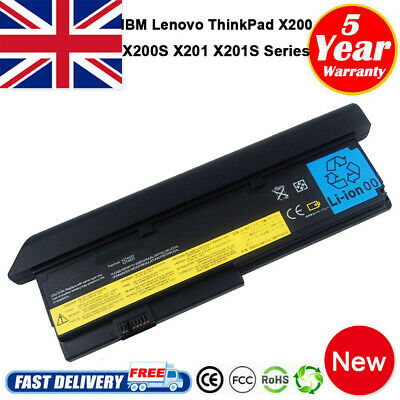 9 Cell Battery For IBM Lenovo ThinkPad X200 X201 42T4536 42T4538 42T4542 43R9257 • 12.65£