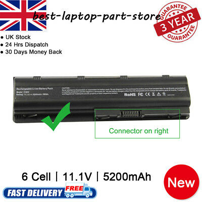 Notebook Laptop Battery For HP MU06 MU09 SPARE 593553-001 593554-001 • 15.49£