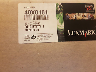 New Sealed Original Lexmark 40X0101 Maintenance Kit 220Volts • 155£
