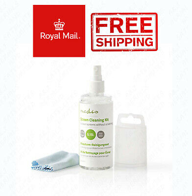TV And Smart Media Screen Cleaner Kit 150 Ml / With Microfiber Cleaning Cloth • 4.39£