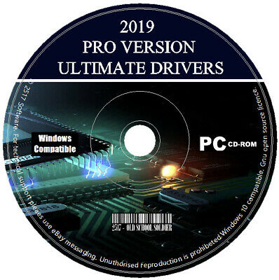 2019 Windows PC Drivers Recovery/Restore/Repair/Install For Win XP/Vista/7/8/10 • 2.99£
