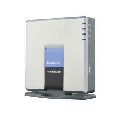 Linksys Unlocked SPA3000 VoIP Phone Adapter FXS FXO VoIP PTSN Telephone Internet • 22.55£