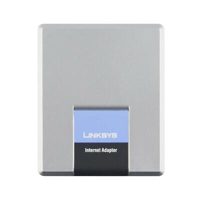 Unlocked Linksys SPA1001 SIP VoIP Phone Adapter With One FXS Phone Ports No Box • 18.78£