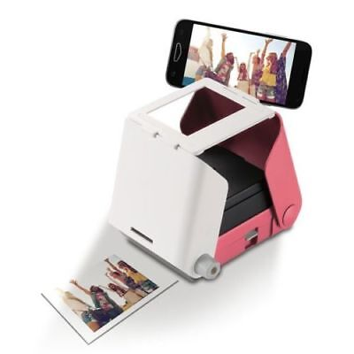 Tomy KiiPix Smartphone Picture Photo Printer Pink • 29.99£
