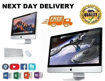 Apple IMac A1311 (i3) - 21.5  - 500GB HDD - 8GB RAM - Excellent Condition • 299.99£