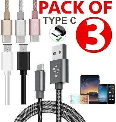 USB-C For Huawei P30 P20 Lite / Pro P10 Charger Data Cable Lead Fast Charging • 3.79£