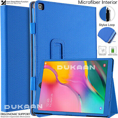 For Samsung Galaxy Tab A 10.1 (2019) Case Leather Folio Stand Cover SM-T510 T515 • 5.86£