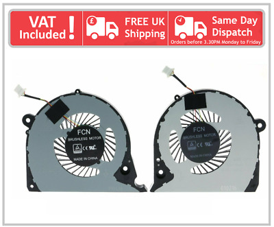 Dell Inspiron G7 15R 7566 7567 7000 7577 7588 Left & Right CPU GPU Cooling Fans • 25£