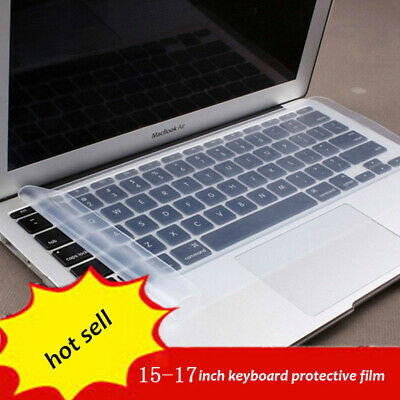 Waterproof Universal Silicone Laptop Keyboard Skin Protector Cover For 15  17  • 1.85£