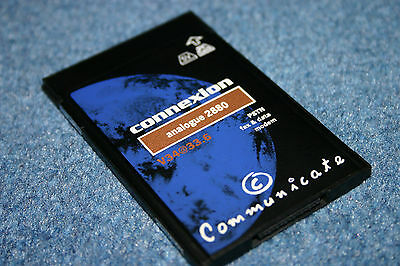 Communicate Connexion Analogue 2880  V34@33.6 PSTN Fax&data Modem PC Card PCMCIA • 0.99£