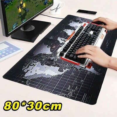 Extra Large XL Gaming Mouse Pad Mat For Pc Laptop Macbook Anti-Slip • 6.99£