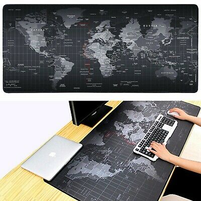 90CM X 30CM EXTRA LARGE XL GAMING MOUSE PAD MAT FOR PC LAPTOP MACBOOK ANTI-SLIP • 5.95£
