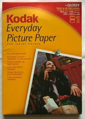 KODAK Glossy Everyday Picture Paper, A4, Less Than 100 Sheets • 14.20£