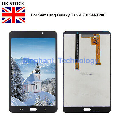GB For SAMSUNG GALAXY TAB A 2016 SM-T280 LCD + TOUCH SCREEN DIGITIZER Assembly • 22£