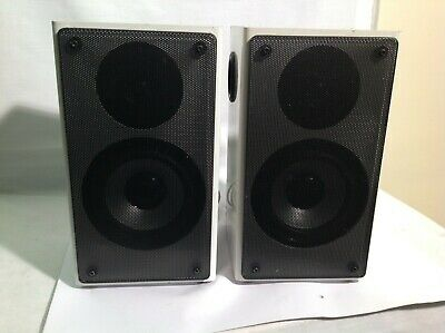 Twin Speakers--model; Unknown--white--used • 19.95£