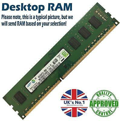2GB 4GB 8GB Memory RAM Desktop PC3 10600 DDR3 1333MHz 240 Pin Non-ECC Lot • 12.89£