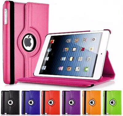 Leather 360 Rotating Smart Case Cover Apple IPad Air 2 Pro 10.5 Air 10.5 Mini 5 • 4.50£