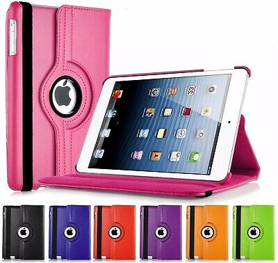 Leather 360 Rotating Smart Case Cover Apple IPad Air 2 Pro 10.5 Air 10.5 Mini 5 • 4.95£