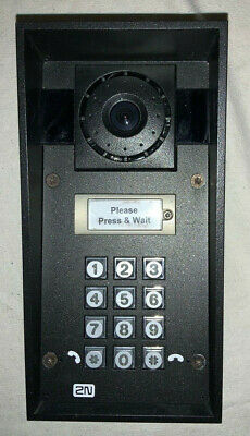 2N Telecommunications IP Force Video Intercom System Grey - 9151101CHKW Boxed • 750£