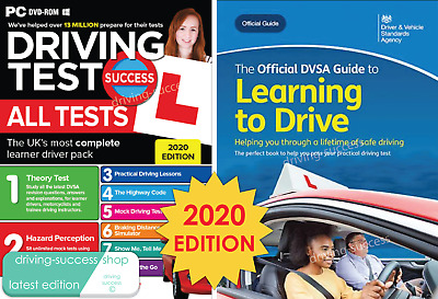 Theory Test Hazard Perception & Practical Learner Book And DVD Pack 2020 • 13.25£
