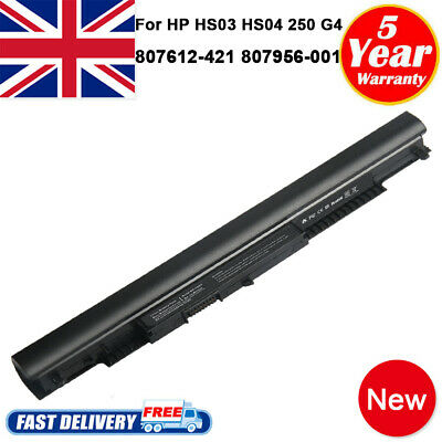 Battery HS04 For HP 250 G4 807956-001 807957-001 HS03 HS03031 HSTNN-LB6V PC Fast • 16.99£