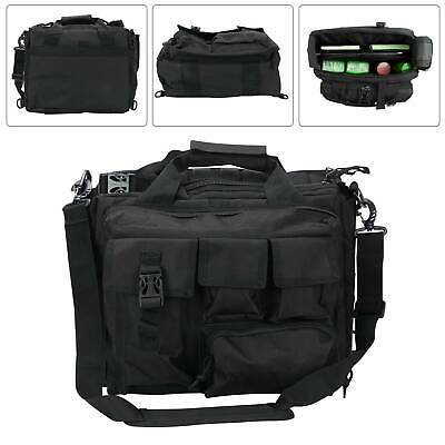 Mens Laptop Bags Tactical Briefcase Computer Shoulder Handbags Messenger Bag UK • 19.39£