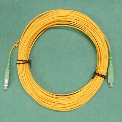 Fibre Optic Patch Cable. Single Mode. SCA To SCA  25 Metre • 10£